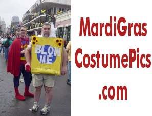 Bead Lady Dude - Mardi Gras Costume